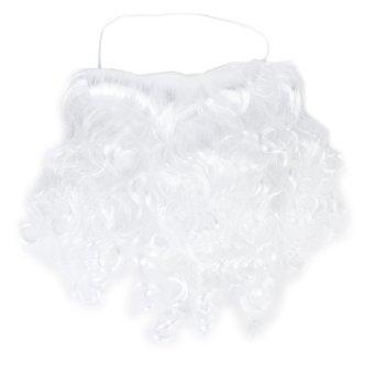 Santa Christmas Dress Up White Curly Beard