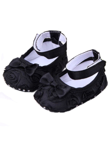 Sanwood® Baby Toddler Princess AntiSlip Sandal 12-18 months Black