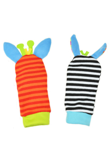Sanwood® Infant Baby Rattles Toys Developmental Socks Random Color - picture 2