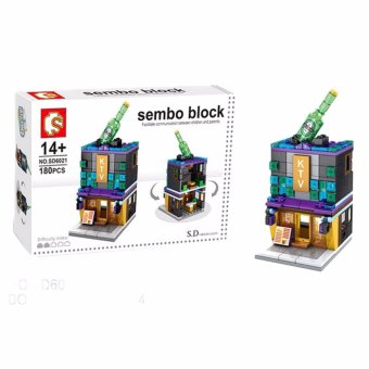 Sembo Block SD6021 KTV Shop Building Blocks Toy