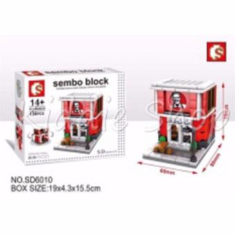Sembo Building Block No. SD6600 - Fastfood Building Toy