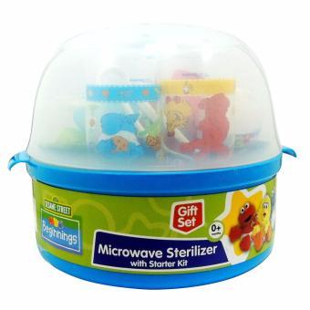Sesame Beginnings Microwavable Sterilizer with Starter Kit - 5