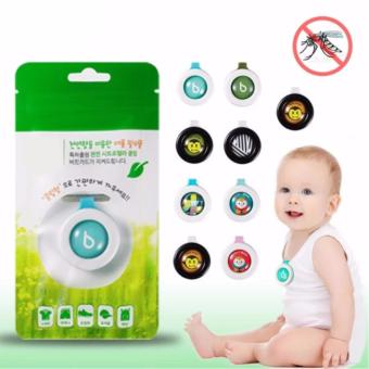 Set of 10 Child Mosquito Repellent Bracelet Stickers Baby PregnantAnti Mosquito Pest Control Buttons Mosquito killer (MultipleDesign)
