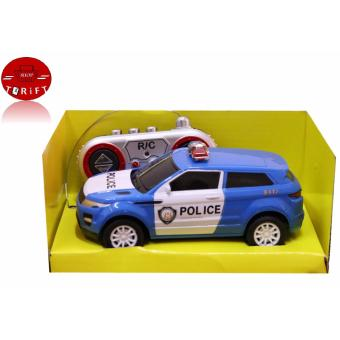 SHOP AND THRIFT 6138K 1:28 Scale Remote Control Car Mini Car PoliceToys for Children