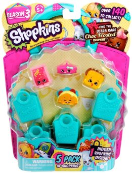 Shopkins Season 3 Pack of 5 - 2