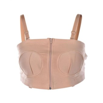 Simple Wishes Hands Free Pumping Bra For Breast Pumps Mom FavoriteNude - intl