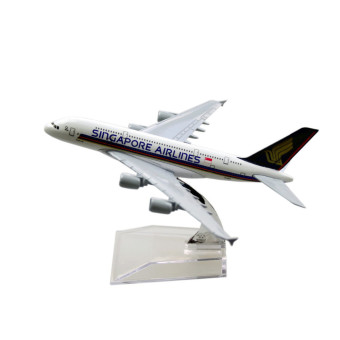 Singapore Airlines Airbus 380 16cm Airplane Models Child BirthdayGift Plane Models Toys