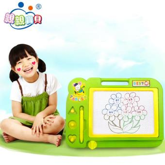 Sketch Pad Magnetic Drawing Writing Board Random Color - intl