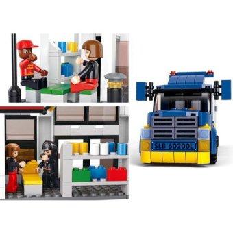 Sluban Town - Heavy Duty Van Truck - 2