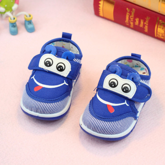 Soft bottom baby soft bottom cloth shoes for men and women children's shoes