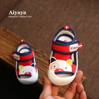 Soft bottom summer baby boy's sandals toddler shoes