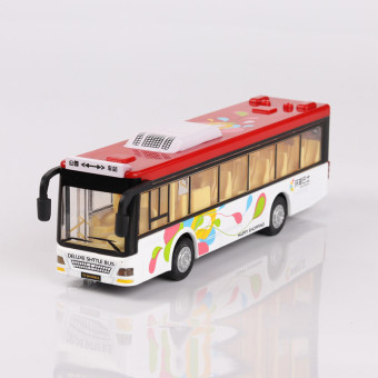 Sound and light can open the door voice car model bus