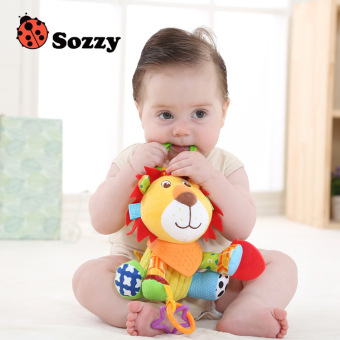 Sozzy plush multi-functional newborns baby doll