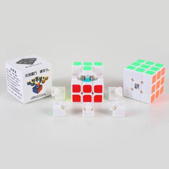 Speed Dragon Professional Rubik Cube Smooth Puzzle 3X3-White - 2