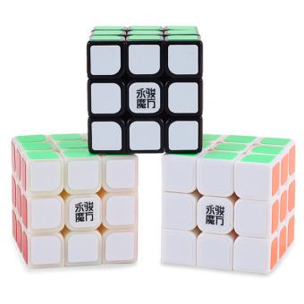 Speed Dragon Professional Rubik Cube Smooth Puzzle 3X3-White - 3
