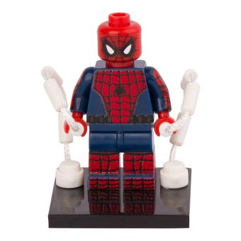 Spiderman Building Block Gift Toy Gifts Avengers For Kids Children Lego