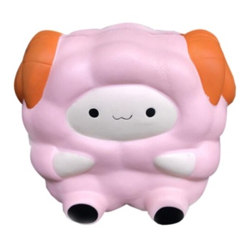 Squishy Kawaii Lamb Cream Scented Slow Rising Decompression Squeeze Toys Children Simulation Cute Sheep Toys - intl