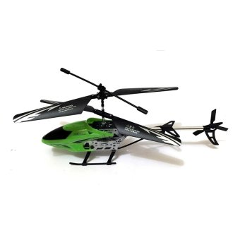 SS368A Rechargeable 2CH Infrared Remote Control Helicopter(Green) - picture 2