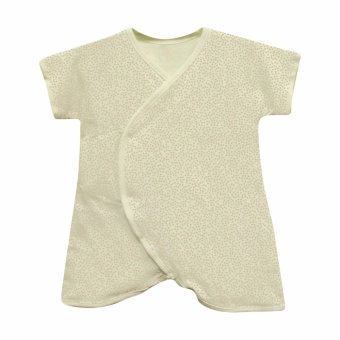 St Patrick baby Organic Midcalf short sleeves Romper (6m)