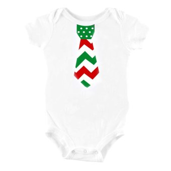 Stache Onesies Jumpers and Rompers Set of 2 (White) - picture 2