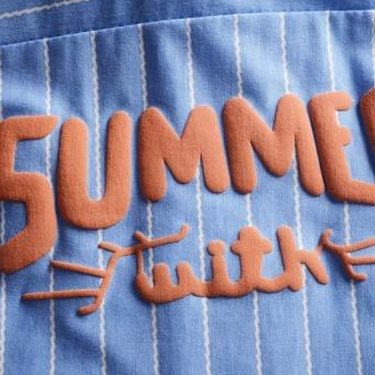 Summer Boys Short Sleeve Stripe Shirt + Jeans Short Pants Set Infant Children's Clothing - intl - 4