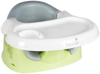 Summer infant Support Me 3 in 1 Positioner Feeding Seat and Booster(Green/Grey)