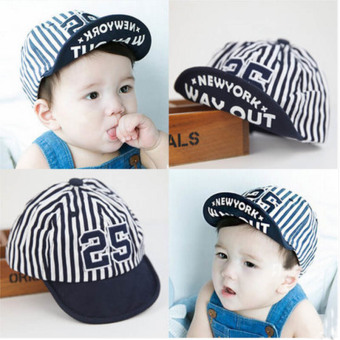 Summer Style Baby Hat infant Caps Letter Children Baseball CapsBoys & Girls Peaked Hats Sun Hats (3-24months) Price Philippines