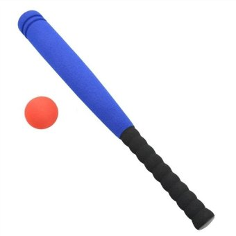 Super Safe Foam Baseball Bat with Baseball Toy Set for Children Age3 to 5 Years Old (Blue)