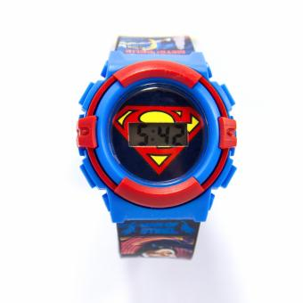 Superman Graphic-strap LCD Watch - 2