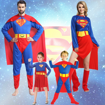 Superman Halloween adult male girls costume