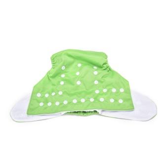 Sweet Alva Reusable Baby Washable Cloth Diaper Nappy +1INSERT Green- intl - 3