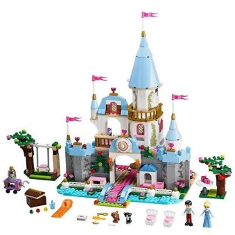 SY325 Building Block Cinderella Romantic Castle Princess FriendBlocks Minifigure Bricks Girl Sets Toys Compatible With Lego Price Philippines