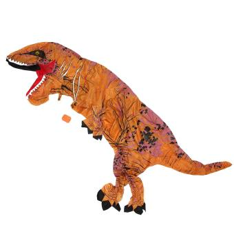 T-Rex DINOSAUR Inflatable Adult Costume TRex Costumes Halloween Party Dress - intl