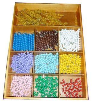 Tahanang Walang Hagdanan Colored Beads with Box Wooden Toy(Multicolor) Price Philippines