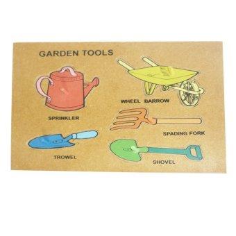 Tahanang Walang Hagdanan Garden Tools Puzzle (Multicolor)