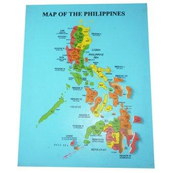 Tahanang Walang Hagdanan Map of the Philippines Peg Puzzle