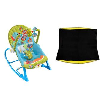 Taobao Fisher-Price Infant-to-Toddler Rocker, Elephant Friends WithHot Shapers Slimming Waist Belt