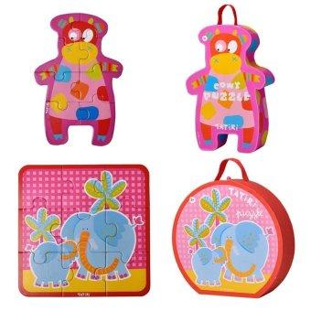 Tatiri Puzzle (Elephant and Box Cowy)