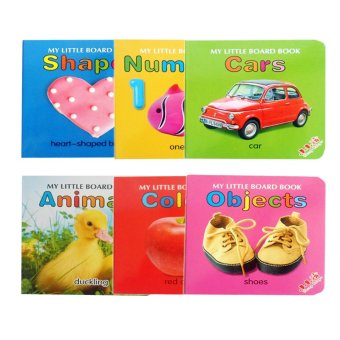 Teeny Baby My Little Board Book Educational Activity for ToddlersSet of 6 (Multicolor) Price Philippines
