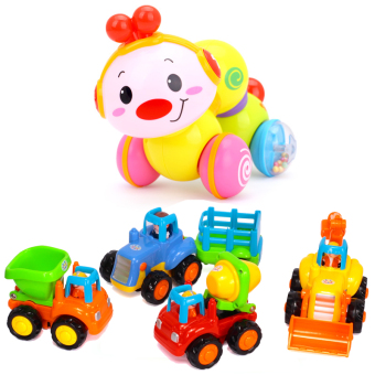 The Department of music infants children's inertia Mini Car cloth book learning piano