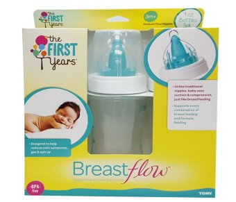 The First Years 9 oz Breastflow Bottle