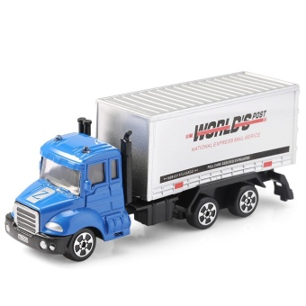 THE NORTH E HOME Alloy 1:64 Scale Container Truck Toy (Blue) - intl Price Philippines