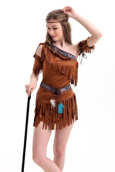 The Primitive dress female adult dance performance clothing costume