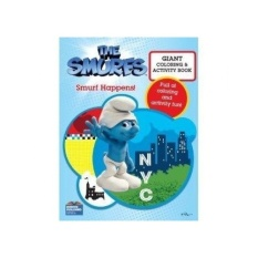 The Smurfs Movie Colouring Book