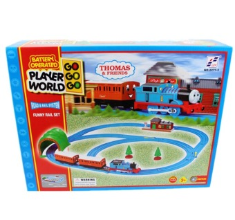 Thomas And Friends Electric Trains Set With Rail