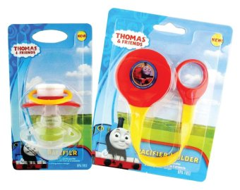 Thomas and Friends Pacifier with Orthodontic Baglet and PacifierHolder
