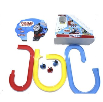 Thomas And Friends Trackmaster Climbing stairs set ,Tomas train LEDlight music Electric Rail Road kits boy assembly toys car - 5