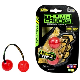 Thumb Chucks 2017 Control the Roll Glow in the dark (red)