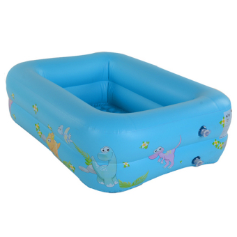 Tickle 120cm x 90cm x 32cm Inflatable Animal World Square Pool