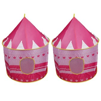 Tickle Kiddie Castle Tent (Pink) Set of 2 Price Philippines